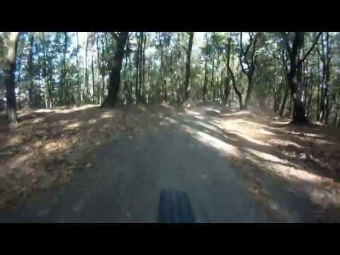 Concurs de biciclete in judetul Arad - Portiunea de padure - Arad Bike Race 2012