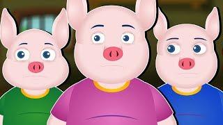 तीन वटा साना सुंगुरहरुको कथा | Nepali Story Three Little Pigs | New Nepali Fairy Tales |Nepali Katha