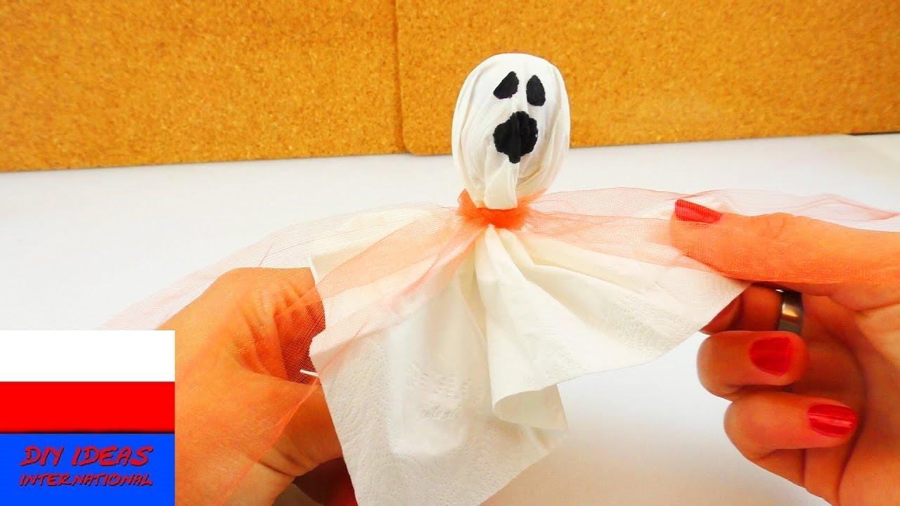 Lizak-Duch | prosty pomysł na zabawę Halloween | pomysł na prezent