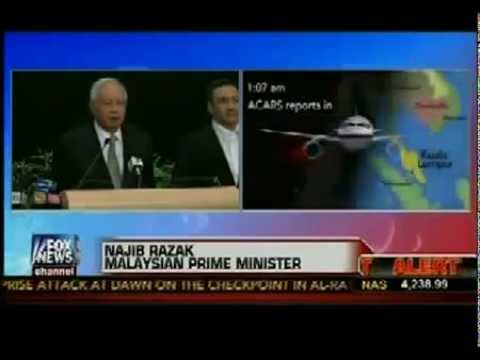 Malaysia PM Announced MH 370 Missing Plane Was Recognized Around Indian Ocean