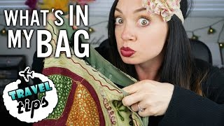 TRAVEL TIPS: What's in My Bag [My In-Flight Travel Essentials]