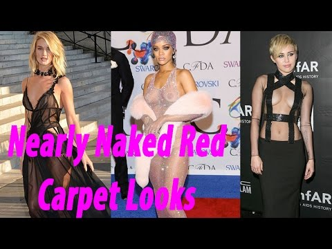 Famous Flashers  55 Nearly Naked Red Carpet Looks part 2 thumbnail