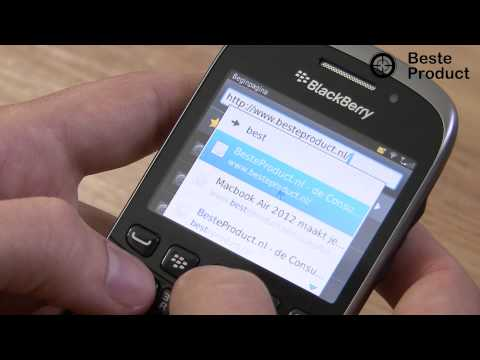 Blackberry Curve 9320 » Smartphone review (BesteProduct)