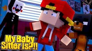 Minecraft - MY BABYSITTER IS - THE PUPPET MASTER!!