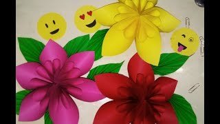 Origami Flower Easy Paper Flower | 2017 Easy Step | Paper Craft Ideas