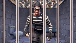 Escaping PRISON In FORTNITE! (Fortnite Prison Break)