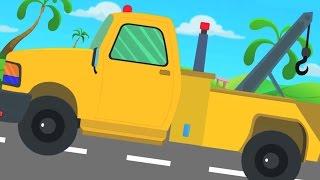 Tow Truck | Biên soạn Video cho trẻ em | Kids Tv Kênh