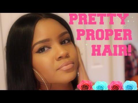 Silk Base Closure!  |  Pretty Proper Hair Review