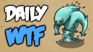 Dota 2 Daily WTF - Last Second Save