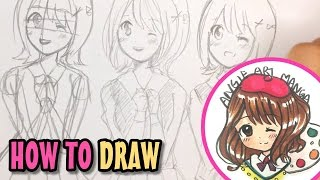 How to practice drawing manga