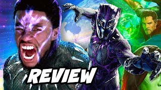 Black Panther Fight Trailer and Black Panther Movie Reaction - NO SPOILERS