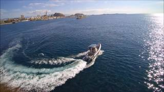 Yuneec Q500 Typhoon 4K. Chasing A Boat