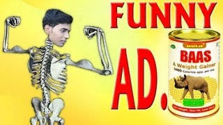 DORA BAAS    Hindi Comedy Video   Side Effects of Health Supplements   Pakau TV Channel
