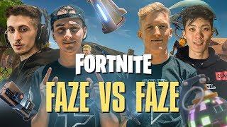 FAZE vs FAZE on Fortnite! - Pro Playground 1v1's