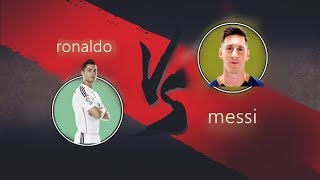 shadow fight Ronaldo vs Messi - messi - ronaldo - shadow fight