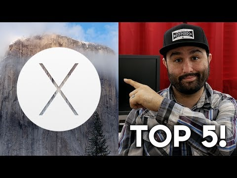 OS X Yosemite: Top 5 Features!