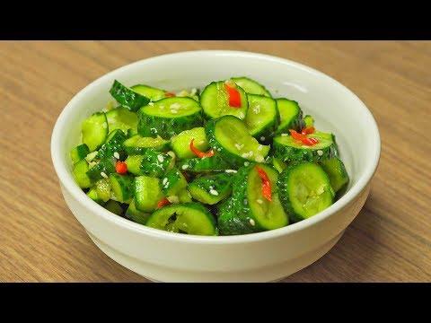 Битые огурцы по-китайски. Рецепт от Всегда Вкусно!