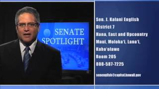 Senate Spotlight: Featuring Senator J. Kalani English