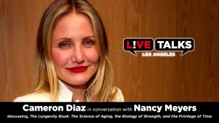 Cameron Diaz In Conversation With Nancy Meyers