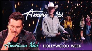 Download Luke Bryan Gives This Poor Cowboy His Boots After MOVING Performance  American Idol 2019 MP3