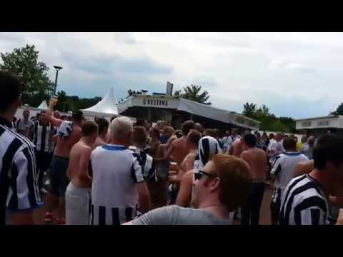 NUFC @ SCHALKE 04 - SCHALKE-CUP 2014 - SHOLA (Ameobi) vs. SCHALKE