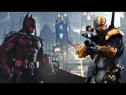 Batman Arkham Origins Official Trailer 【No Gameplay HD】