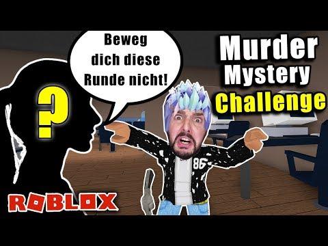 NEUE MITSPIELERIN BESTIMMT 1 TAG WIE ICH MURDER MYSTERY SPIELE BEI ROBLOX! *Challenge*