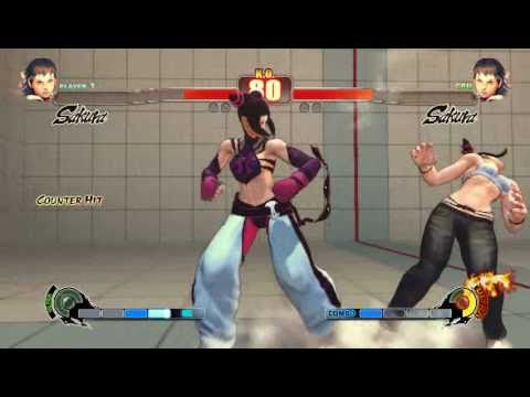 Street Fighter 4 PC -  JURI HAN (SKR) vs JURI HAN (SKR)