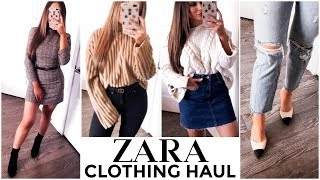 ZARA CLOTHING HAUL | FALL 2018