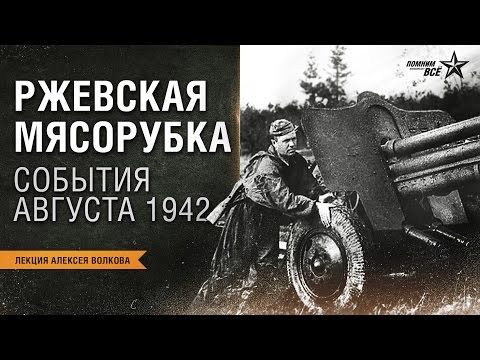 Лекция Алексея Волкова Ржевская мясорубка