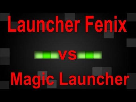 Minecraft   Magic Launcher vs Launcher Fenix ¿Cual es el Mejor?