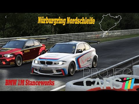 Project CARS KI Race [HD] BMW 1M Stanceworks @ Nordschleife with Rain thumbnail
