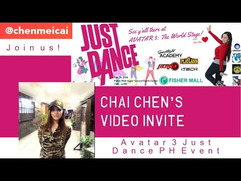 Just Dance Philippines - AVATAR 3: The World Stage Video Invite Feb 14 2016