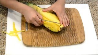 Pineapple Cutting Technique - Fruit Cutting Tutorial