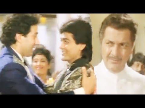 Prem Chopra Tries To Insult Sunny Deol Veerta - Scene 821