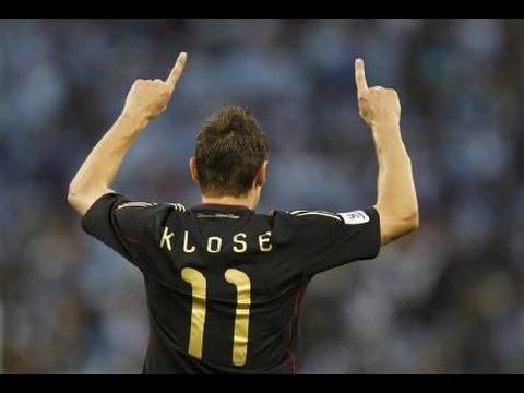 Miroslav Klose - 20 Spiele 15 Kisten - #BereitWieNie #Klose #Deutschland (15 Goals, World Cup)