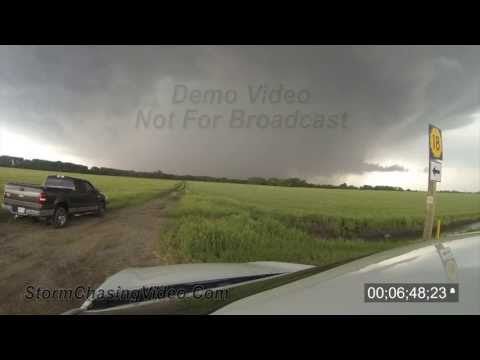 5/28/2013 Bennington, KS Tornado Stock Footage Archive