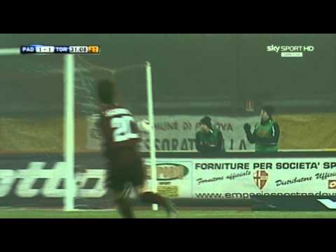 Padova – Torino 1-1 * Bellissimo gol di ROLANDO BIANCHI *  real audio