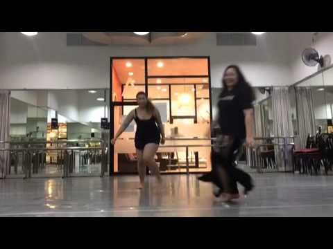 Crazy Funny Moments During Belly Dance Class with Kru