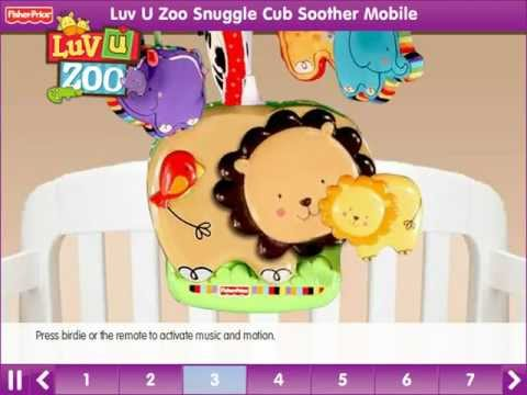 Luv U Zoo™ Snuggle Cub Soother Mobile