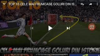 Top 10 cele main frumoase goluri din istorie