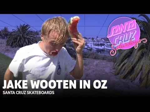 Jake Wooten SMASHES through Australia! Santa Cruz Skateboards Saturdays