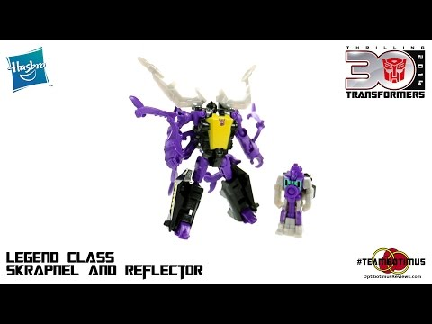 Video Review of the Transformers Generations: Legends Class Skrapnel