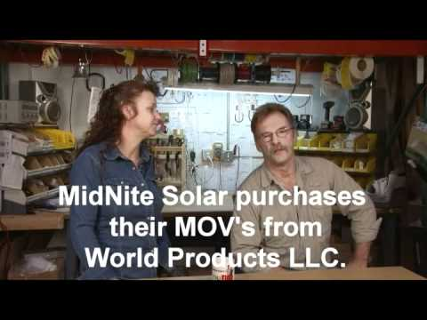 MidNite Solar's Lightning Arrestor Comparison