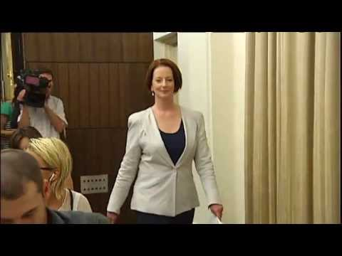 A look back at Julia Gillard's tumultuous three years in power