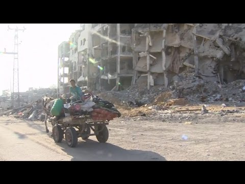 Gaza ceasefire: Palestinians return home after Israel Hamas truce
