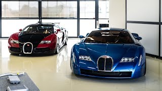 TOP SECRET tour of Bugatti factory (18 cylinder Chiron concept, testing and more!!)
