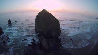 Oregon Coast | Aerial Video | DJI Phantom Drone 4K