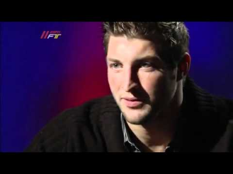 Tim Tebow Interview  God's role in Football