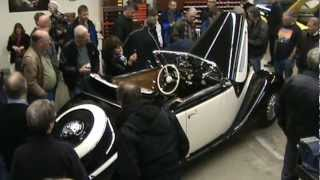 BMW 327/28 Cabriolet Unveiling at Jellybean AutoCafters (Long Version)